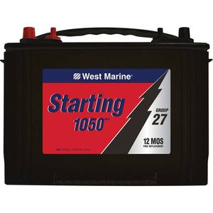 Marine Starting Battery, Group 27 M6