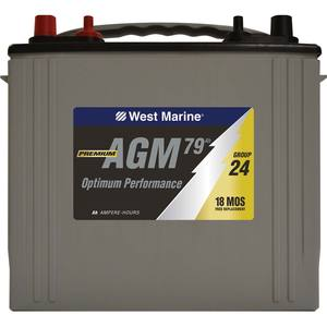 Dual-Purpose AGM Battery, 79 Amp Hours, Group 24