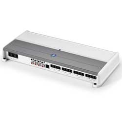 M-Series 8 Channel Class D Full-Range Marine Amplifier, 800 W, 100 W x 8 @ 2 Ω / 75 W x 8 @ 4 Ω - 14.4V