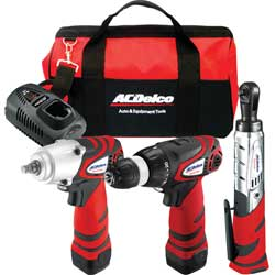 12V 3-in-1 Cordless Combo Kit