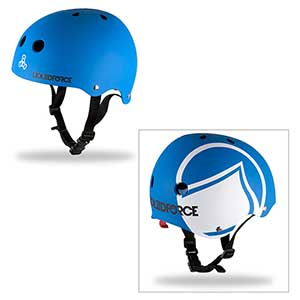 Icon Helmet, Blue/White