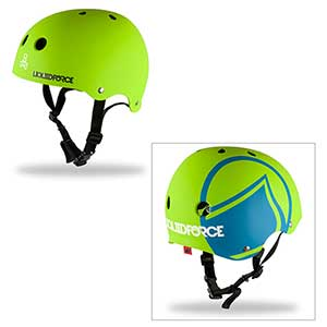 Icon Helmet, Green/Blue