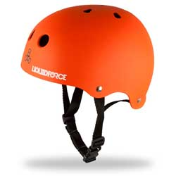 Youth Icon Helmet, Orange, Small