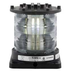 Series 65 Navigation Light, Masthead, Black, 115/230V