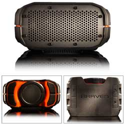 BRV-1 Waterproof Bluetooth Speaker—Lava