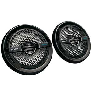 XS-MP1611 Dual Cone Marine Speakers, Black