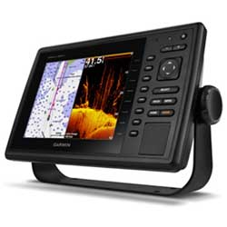 GPSMAP 840xs Fishfinder/GPS Combo, US Coastal & LakeVü HD maps, no Transducer