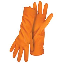 Flocked Latex Gloves