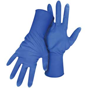Heavy-Duty Disposable Latex Gloves