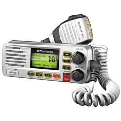 VHF480 Fixed VHF Radio—White