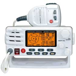 GX2200 Matrix AIS Fixed-Mount VHF Radio, White