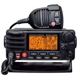 GX2200 Matrix AIS Fixed-Mount VHF Radio, Black