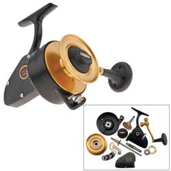Z-Series 706Z Spinning Reel, 3 BB, 15lb Max Drag, 3.8:1 GR, 22.8 oz.