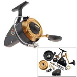 Z-Series 704Z Spinning Reel, 1 BB, 15lb Max Drag, 3.8:1 GR, 23.5 oz.
