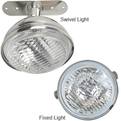 Stainless-Steel Spreader Lights