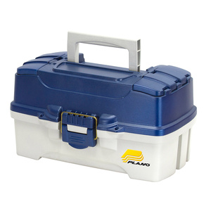 Dual Top Two Tray Tackle Box