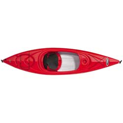 Summit 100X Sit-Inside Kayak, Red/White
