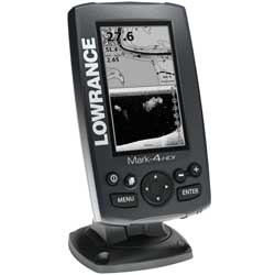 Mark-4 HDI Fishfinder/Chartplotter Combo with 50/200 455/800kHz Transducer