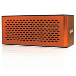 Splash Water-Resistant Hi-Fi Speaker—Orange