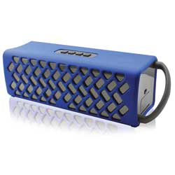 Wake Waterproof Bluetooth Speaker—Blue