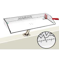 "Bait/Filet Mate Serving/Cutting Table, 31"" x 12-1/2"""