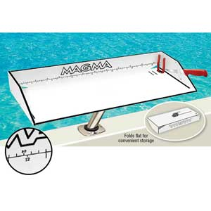 "Bait/Filet Mate™ Table with LeveLock™ Mount, 12 1/2""W x 31""L"