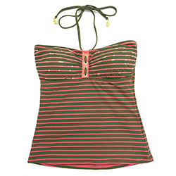 Women's Front Lines Tankini Top