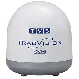 TracVision TV5 Marine Satellite TV System—North America
