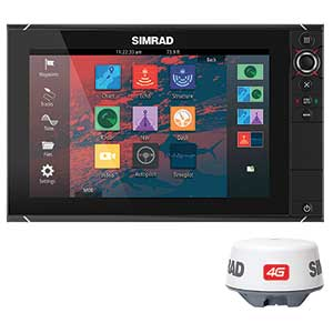 SIMRAD NSS12 evo2/Broadband 4G Radar Bundle