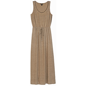 Women's Seneca Jersey Linen Maxi Dress