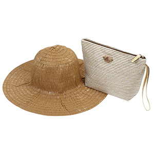 Women's Lurex Pack-A-Hat