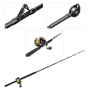 Conventional 6' Rod & TLD30IIA Reel Combo, Medium