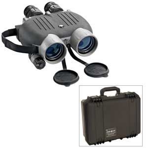 14 x 40 Bylite Gyro-Stabilized Binoculars with Hard Case