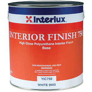 Interior Finish 750* High-Gloss Polyurethane Finish (Base), Gallon