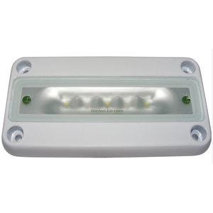 Low Profile LED Light, Red/White