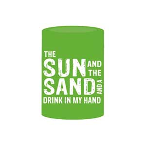 The Sun And The Sand Drink Koozie