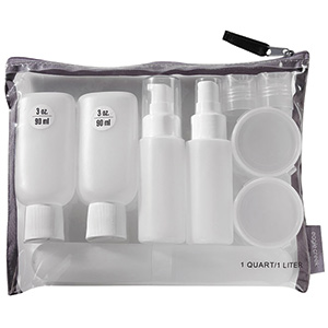 Pack-It™ Custom Travel Bottle Set