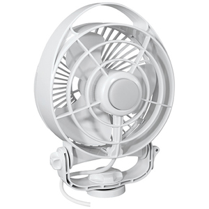 Maestro 12V Variable Speed Fan, White