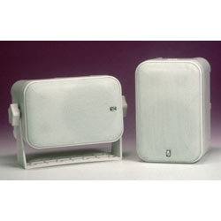 Waterproof Box Speakers, Pair