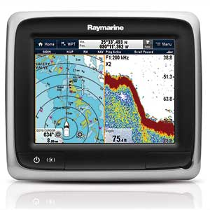 a67 Multi-Function Display with Sonar and Rest of World Charts