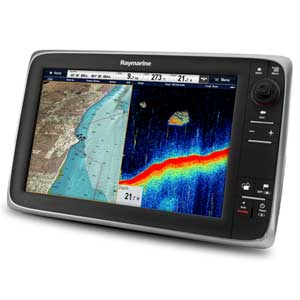 c97 Multi-Function Display with Sonar and US LightHouse Vector Charts