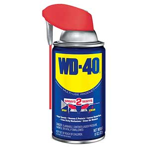"WD-40 Lubricant, Aerosol with ""Smart Straw"", Low VOC, 8oz."