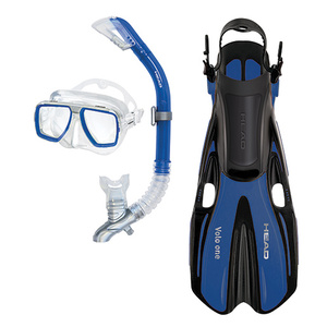Tarpon/Barracuda/Volo One Snorkel Set, Blue