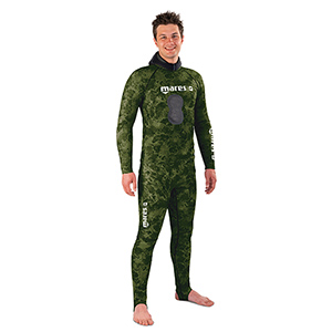 Two-Piece Rashguard, Green Camouflage