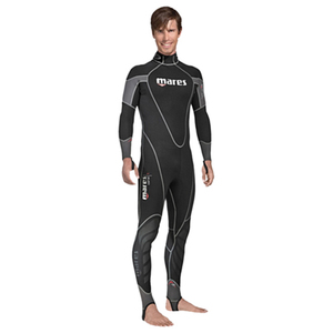 Coral Men's Wetsuits, Black/Gray, 0.5mm