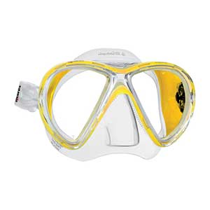 X-Vu Liquidskin Mask, Yellow/Clear