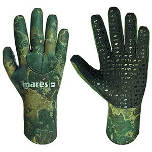 30 Dive Gloves, Camo Green, 3mm