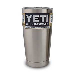 Rambler™ Tumbler, 20 oz. with Lid