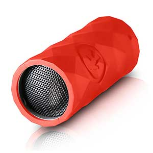 Buckshot Rugged Bluetooth Speaker—Red