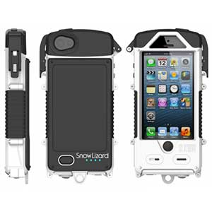 SLXtreme Waterproof Case with Integrated Battery for iPhone 5/5S—White